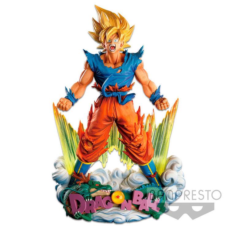 Dragon Ball Z Super Master Stars Piece Diorama Figure Som Goku The Brush (Banpresto)
