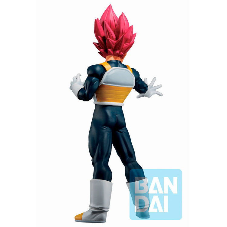Dragon Ball Ichibansho Figure God Vegeta Back To The Film (Bandai Spirits)