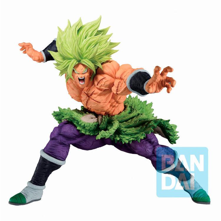 Dragon Ball Ichibansho Figure Super Saiyan Broly Full Power Back To The Film (Bandai Spirits)