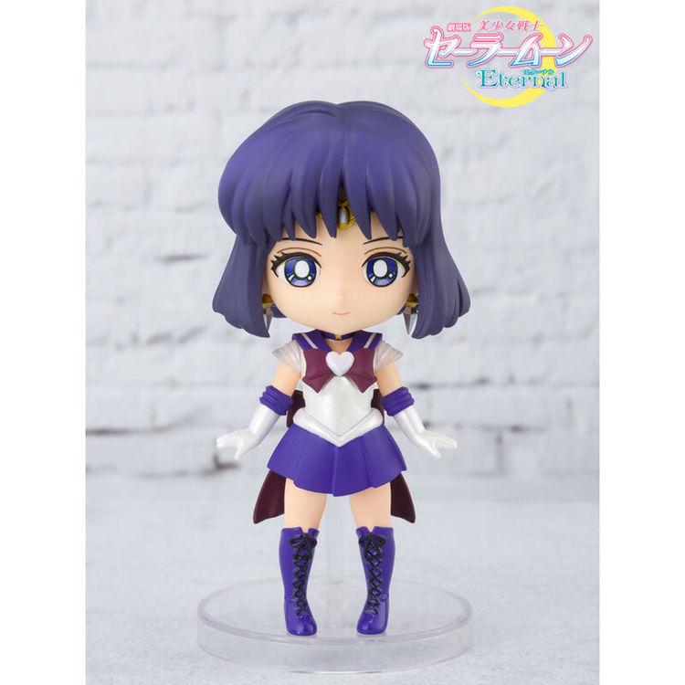 Sailor Moon Eternal Figuarts Mini Figure Sailor Saturn Eternal Edition (Tamashii Nations)