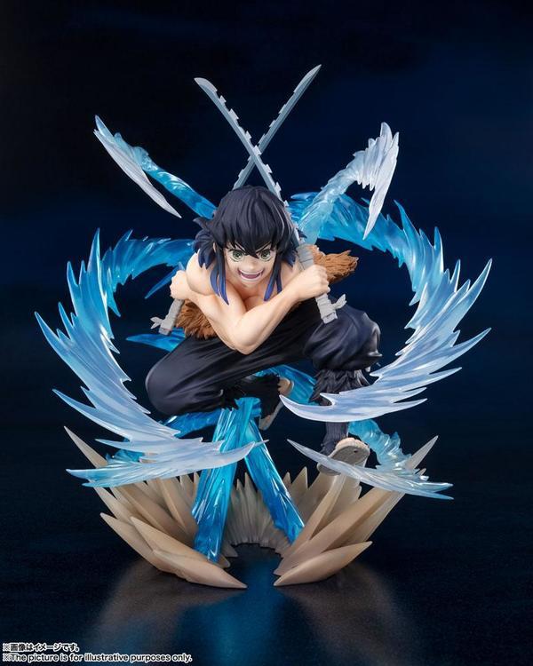 Demon Slayer: Kimetsu no Yaiba FiguartsZERO Figure Inosuke Hasiraba (Beast Breathing)