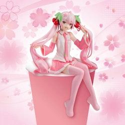 Vocaloid Noodle Stopper Figure Sakura Miku (FuRyu)