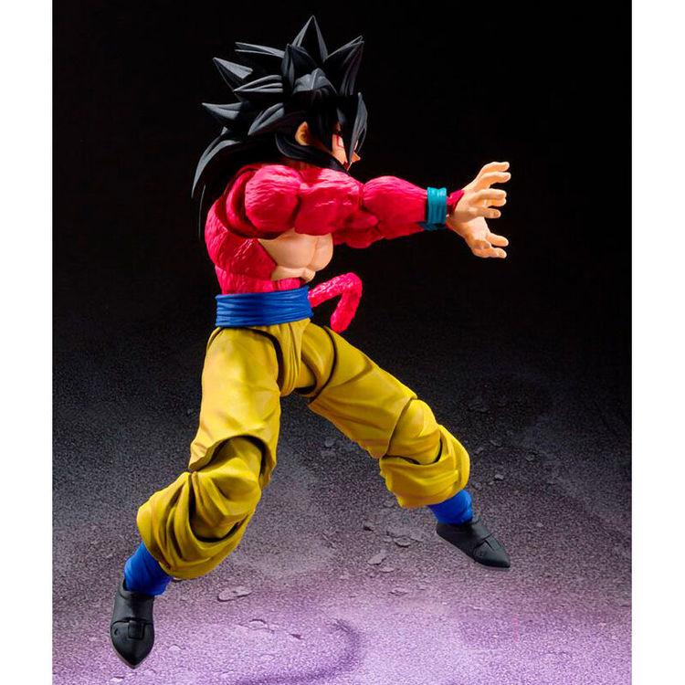 Dragon Ball GT S.H. Figuarts Action Figure Super Saiyan 4 Son Goku (Tamashii Nations)