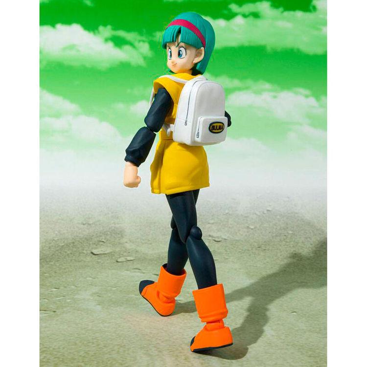 Dragon Ball Z S.H. Figuarts Action Figure Bulma Journey to Planet Namek (Tamashii Nations)