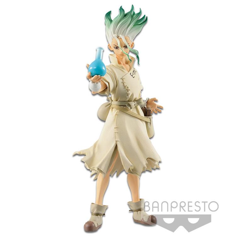 Dr. Stone Stone World Figure Senku Ishigami (Banpresto)