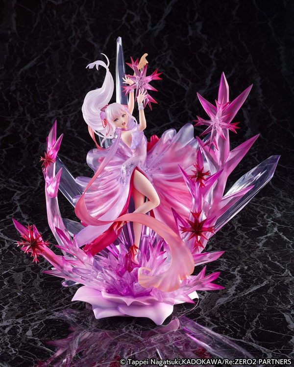 Re: Zero Starting Life in Another World 1/7 Figure Emilia Crystal Dress Ver. (Estream)