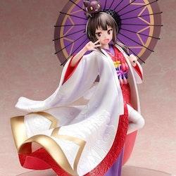 Kono Subarashii Sekai ni Shukufuku wo! 1/7 Figure Megumin Shiromuku Ver. (FuRyu)