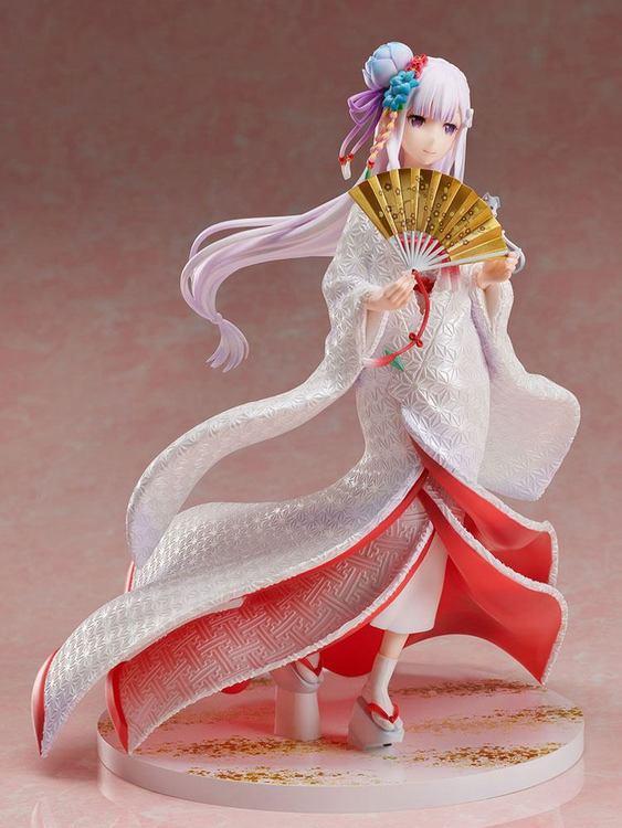 Re:ZERO -Starting Life in Another World- 1/7 Figure Emilia Shiromuku (FuRyu)
