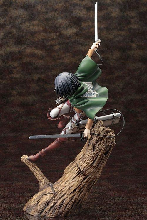 Attack on Titan ARTFX J 1/8 Figure Mikasa Ackerman Renewal Package Ver. (Kotobukiya)