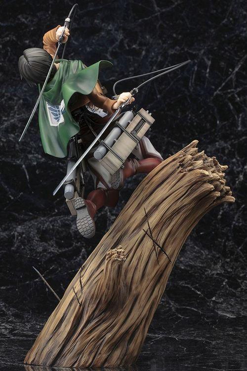 Attack on Titan ARTFXJ 1/8 Figure Levi Renewal Package Ver. (Kotobukiya)