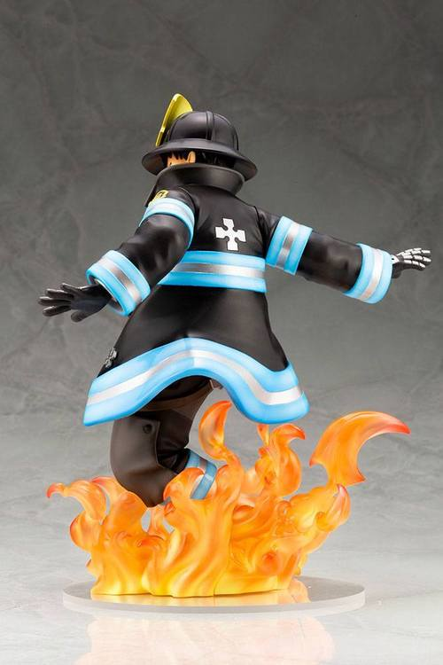Fire Force ARTFXJ 1/8 Figure Shinra Kusakabe Glows in the Dark Bonus Edition (Kotobukiya)