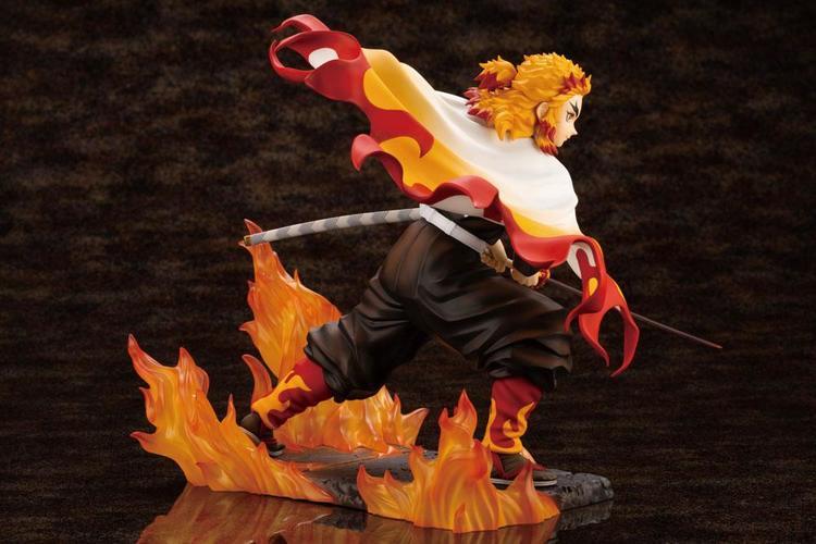 Demon Slayer: Kimetsu no Yaiba ARTFXJ 1/8 Figure Kyojuro Rengoku Bonus Edition (Kotobukiya)