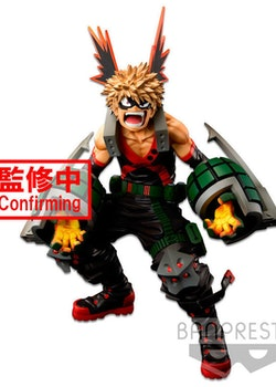 My Hero Academia Academy Super Master Stars Piece Figure Katsuki Bakugou The Brush (Banpresto)