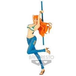 One Piece Lady Fight Figure Nami (Banpresto)