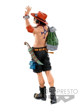 One Piece Super Master Stars Piece Figure Portgas D. Ace The Original (Banpresto)