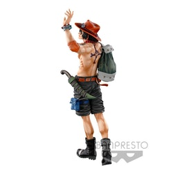 One Piece Super Master Stars Piece Figure Portgas D. Ace The Brush (Banpresto)