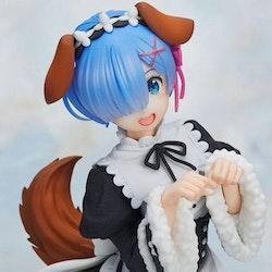 Re:Zero Coreful Figure Rem Memory Snow Puppy ver. (Taito)