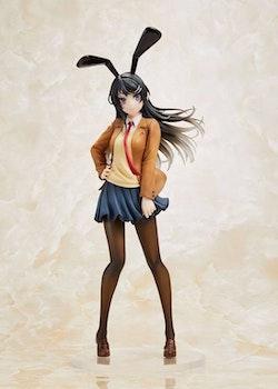 Rascal Does Not Dream of Bunny Girl Senpai Coreful Figure Mai Sakurajima Uniform Bunny Ver. (Taito)