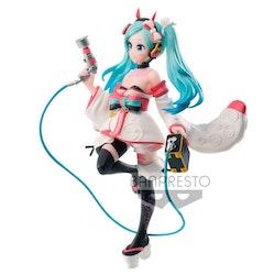 Hatsune Miku Racing Dress and Pattern Figure Racing Miku 2020 Kimono Ver. (Banpresto)