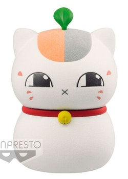 Natsume's Book of Friends Fluffy Puffy Figure Triple Nyanko-sensei 1 ver. A (Banpresto)