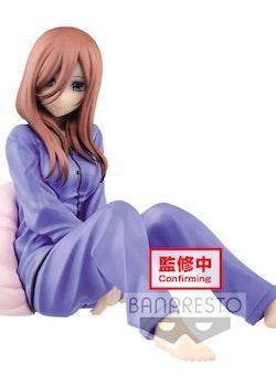 The Quintessential Quintuplets Figure Miku Nakano (Banpresto)