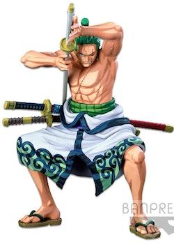 One Piece Super Master Stars Piece Figure Roronoa Zoro Two Dimensions (Banpresto)