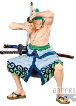 One Piece Super Master Stars Piece Figure Roronoa Zoro The Original (Banpresto)