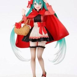 Vocaloid Wonderland Figure Hatsune Miku Red Riding Hood ver. (Taito)