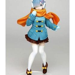 Re:Zero Precious Figure Rem Winter Coat ver. (Taito)