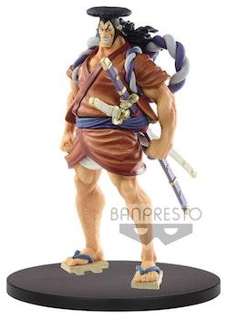 One Piece The Grandline Men vol.10 Wanokuni Figure Kozuki Oden (Banpresto)