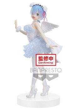 Re:Zero Starting Life in Another World Espresto Clear and Dressy Figure Rem (Banpresto)