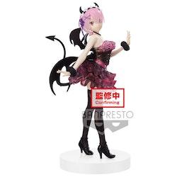 Re:Zero Starting Life in Another World Espresto Clear and Dressy Figure Ram (Banpresto)