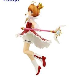 Card Captor Sakura Clear Card Special Figure Sakura Rocket Beat Ver. (FuRyu)
