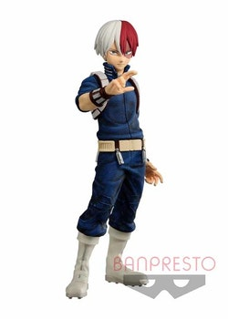 My Hero Academia Texture Figure Todoroki Shoto (Banpresto)
