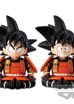 Dragon Ball Figure Son Goku Japanese Samurai Armor & Helmet Ver. (Banpresto)