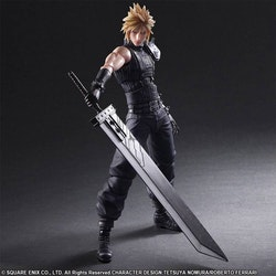 Final Fantasy VII Remake Play Arts Kai Action Figure No. 1 Cloud Strife (Square Enix)