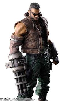 Final Fantasy VII Remake Play Arts Kai Action Figure Barret Wallace Ver. 2 (Square Enix)