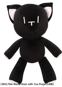 The World Ends with You: The Animation Plush Mr. Mew 42cm (Square Enix)