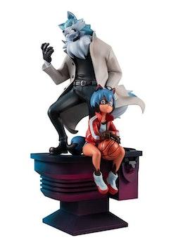 BNA: Brand New Animal Figure Michiru Kagemori & Shirou Ogami (MegaHouse)