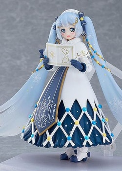 Character Vocal Series 01: Hatsune Miku Figma Action Figure Snow Miku: Glowing Snow Ver. (Max Factory)