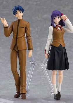 Fate/Stay Night Heaven's Feel Figma Action Figure 2-Pack Shinji Matou & Sakura Matou (Max Factory)