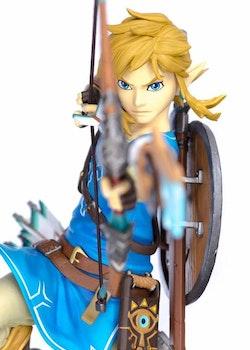 The Legend of Zelda Breath of the Wild Figure Link (First 4 Figures)