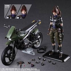 Final Fantasy VII Remake Play Arts Kai Action Figure & Vehicle Jessie & Bike (Square Enix)
