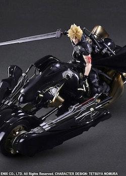 Final Fantasy VII Advent Children Play Arts Kai Action Figure Cloud Strife & Fenrir (Square Enix)