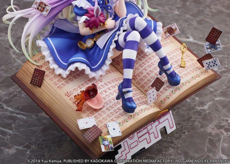 No Game No Life 1/7 Figure Shiro Alice in Wonderland Ver. (eStream)