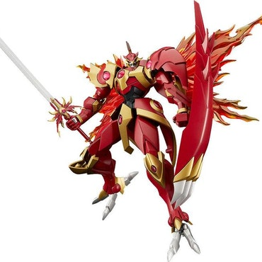 Magic Knight Rayearth Moderoid Model Kit Rayearth the Spirit of Fire (Good Smile Company)