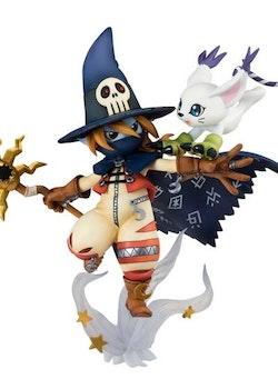 Digimon Adventure G.E.M. Series Figure Wizardmon & Tailmon (Megahouse)