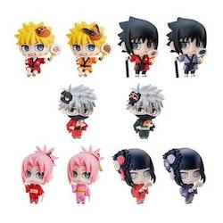 10-Pack Naruto Shippuden Petit Chara Land Trading Figures 10th Anniversary Ver. (Megahouse)