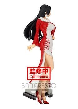 One Piece Glitter & Glamours Figure Boa Hancock Winter Style Ver. A (Banpresto)