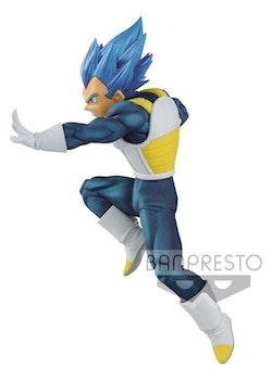 Dragon Ball Super Chosenshiretsuden II Figure SSGSS Vegeta Evolution (Banpresto)